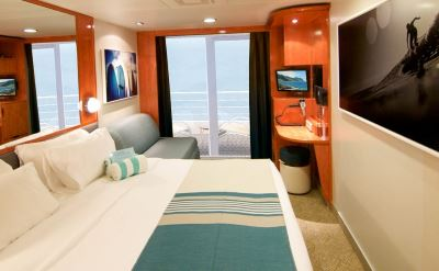 Norwegian Hawaiian cruise updated stateroom