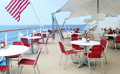 Norwegian Hawaiian cruise outdoor dining