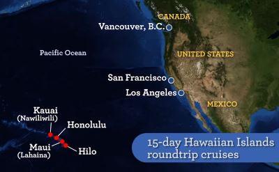 Princess Cruises To Hawaii - Cruise from california to hawaii