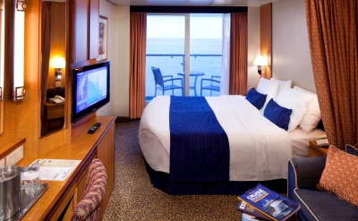 Royal Caribbean cruise stateroom