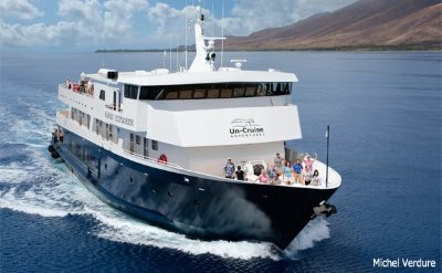 Uncruise Hawaiian Islands cruise ship